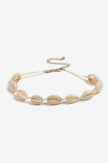 Topshop *conch Shell Necklace