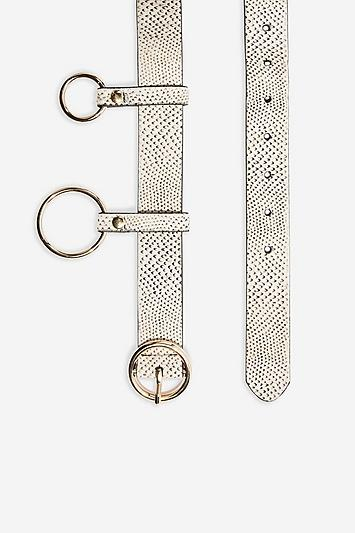 Topshop Stringray Printed Chain Belt