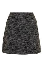 Topshop Tall Boucle A-line Skirt