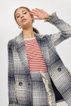 Topshop Boucle Fringe Jacket