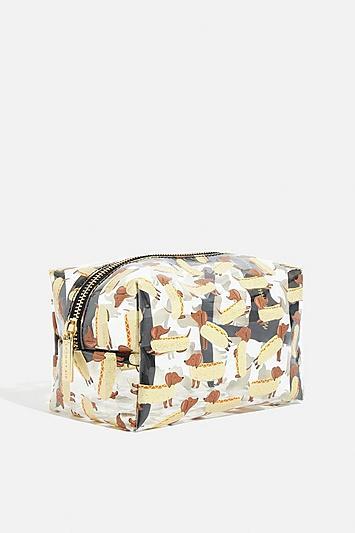 Skinny Dip *dachshund Makeup Bag By Skinnydip