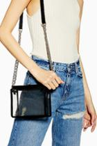 Topshop Cami Clear Tpu Cross Body Bag