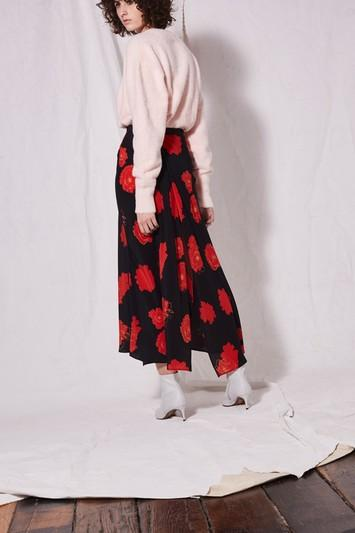 Topshop Poppy Midi Skirt By Boutique