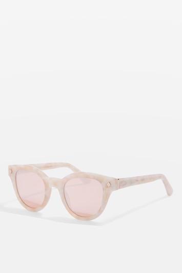 Topshop Premium Acetate Preppy Sunglasses