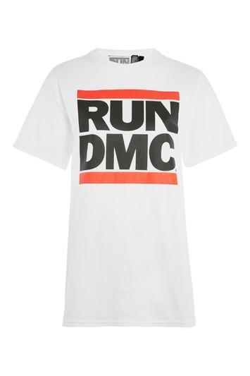 Topshop Run Dmc T-shirt By And Finally