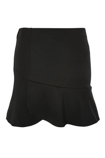 Topshop Panelled Flippy Skirt