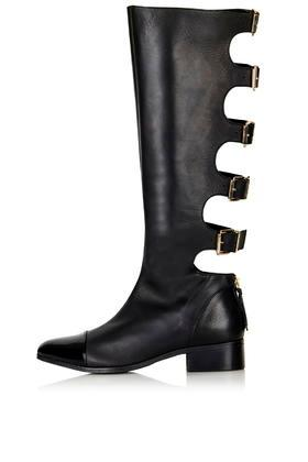 Topshop Deal Buckle High-leg Boots