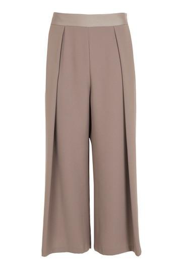 Topshop Petite Crop Wide Leg Trousers