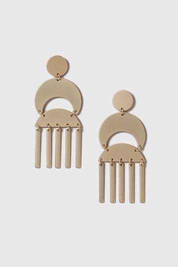 Topshop Statement Stick Drop Earrings