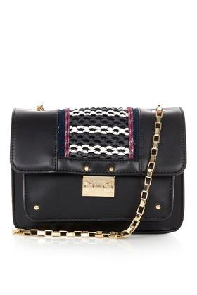 Topshop Boxy Bag With Chain Strap