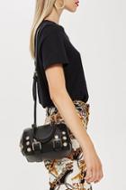 Topshop Bianca Studded Bowler Bag