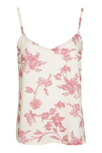 Topshop Wallpaper Pyjama Cami