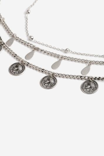 Topshop Coin And Drop Anklet Pack
