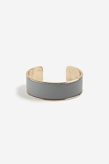 Topshop *gold Look Inlay Cuff