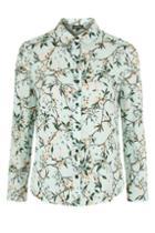 Topshop Tall Floral Shirt