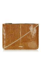 Topshop Basic Zip-top Clutch Bag