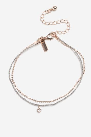 Topshop Freedom Finer Thread And Chain Bracelet Pack