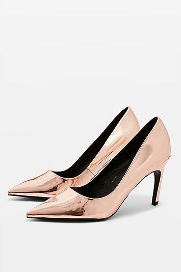 Topshop Glimpse Court Shoes