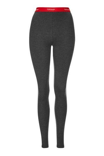 Topshop Topshop Branded Basic Leggings