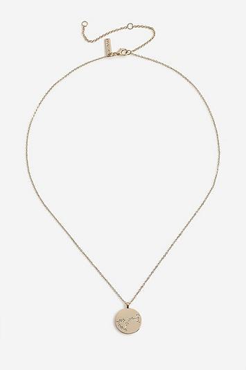 Topshop *scorpio Constellation Ditsy Necklace