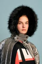 Topshop *silver Ski Puffer Jacket By Topshop Sno
