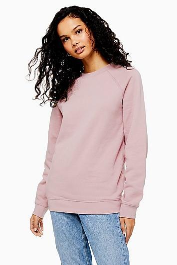 Topshop Lilac Everyday Sweatshirt