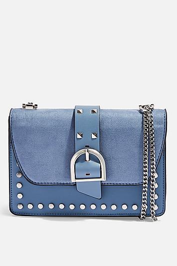 Topshop Bonte Suede Shoulder Bag