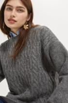 Topshop Super Soft Cable Sweater