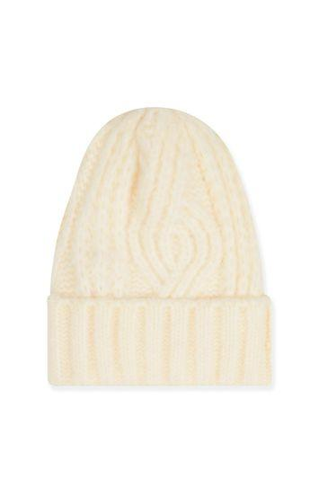 Topshop Cable Beanie Hat