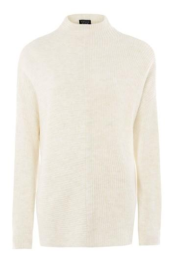 Topshop 1/2 And 1/2 Knitted Jumper