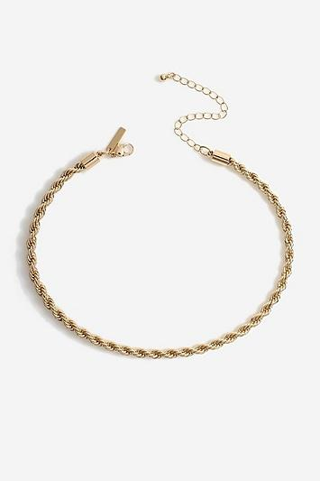 Topshop *twist Choker Necklace
