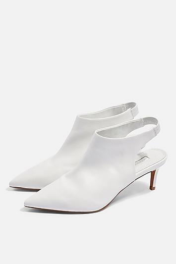 Topshop Jade Pointed Mid Shoes