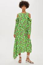 Topshop *waterfall Dress By Boutique