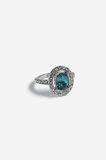 Topshop *crystal Ring