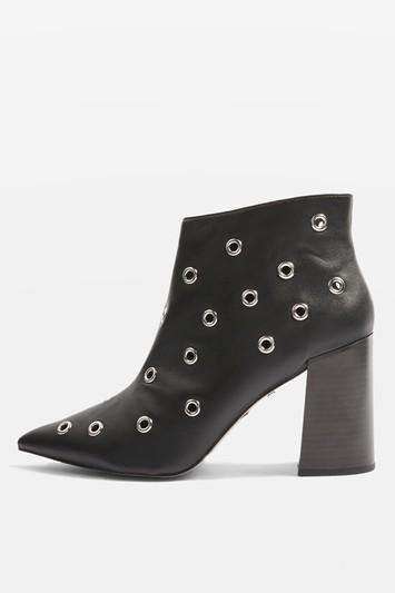 Topshop Hip Ankle Boots