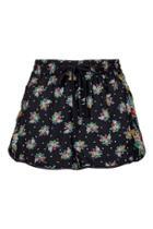 Topshop Floral Print Pyjama Shorts