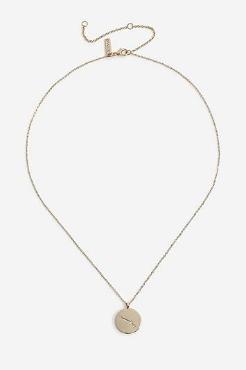 Topshop *aries Constellation Ditsy Necklace