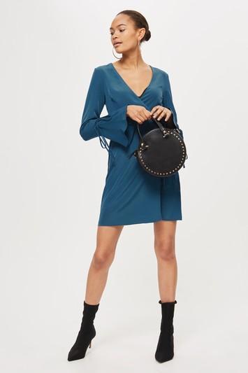 Topshop Petite Wrap Dress