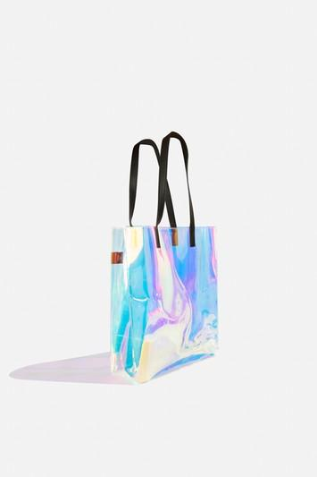 Topshop *eva Glow Large Tote Bag By Skinnydip