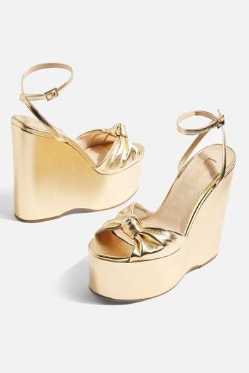 Topshop Knot Two Part Wedges