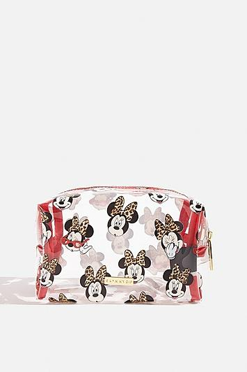 Skinny Dip *disney X Skinnydip Minnie Makeup Bag By Skinnydip