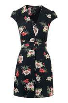 Topshop Floral Printed Midi Dress