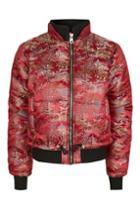 Topshop Oriental Puffer Jacket