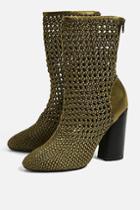 Topshop Helena Weave Boots