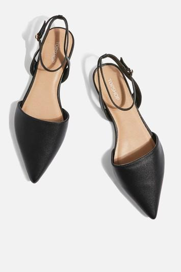 Topshop Two Part Pointed Shoes