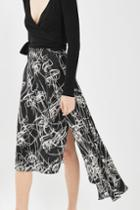 Topshop Faces Asymetric Skirt By Boutique