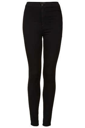 Topshop Moto Black Joni Jeans