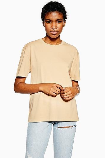 Topshop Tall Stone Nibble T-shirt