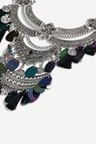 Topshop *mega Ethnic Tassel Necklace