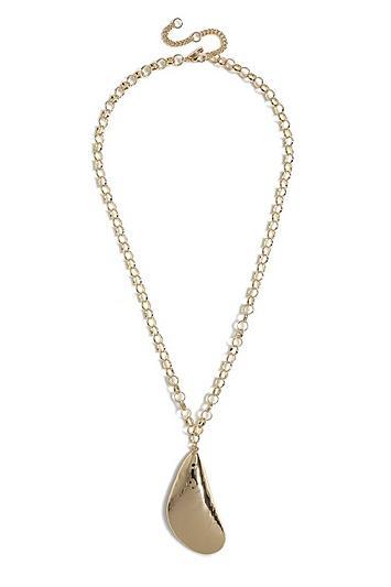 Topshop *mussel Pendant Necklace
